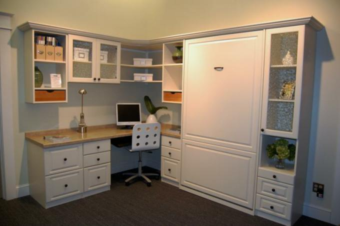 home office with murphy bed. Murphy Beds Are Often Installed In Home Office / Guest Quarters With Bed B