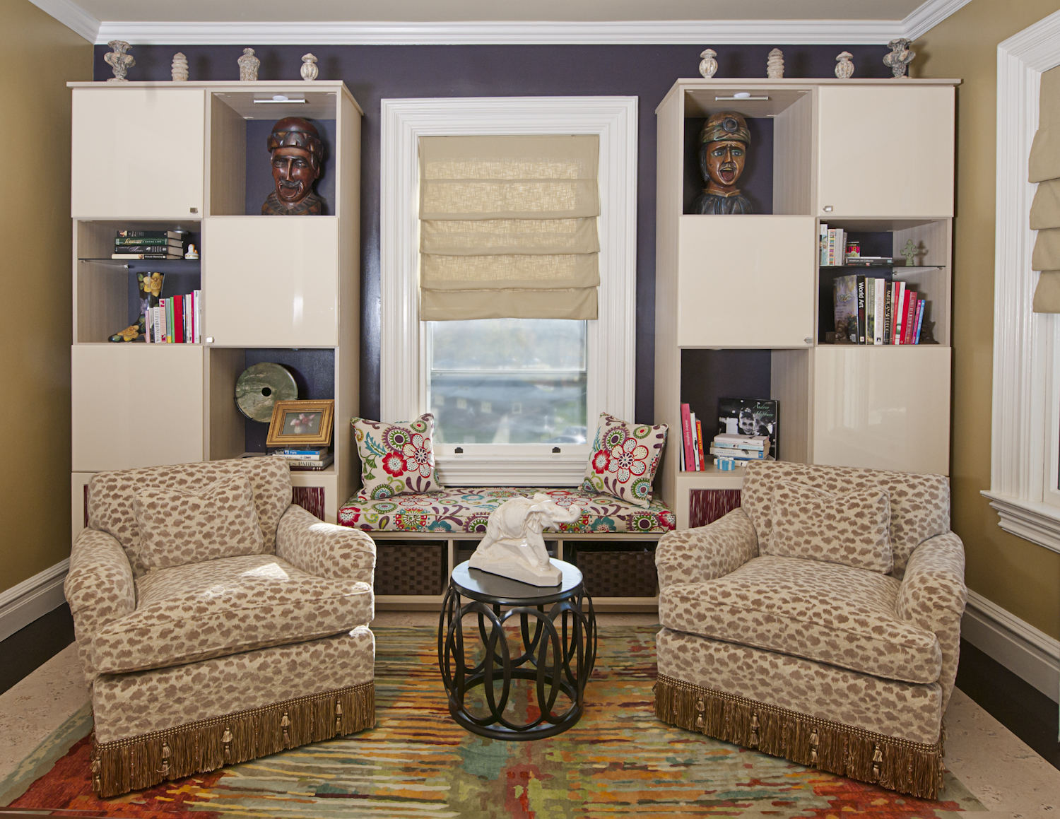 These High gloss cabinet doors are just half the story. To learn more call Closet Solutions today