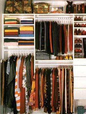 reach in closet - Reach In Closet Design Ideas